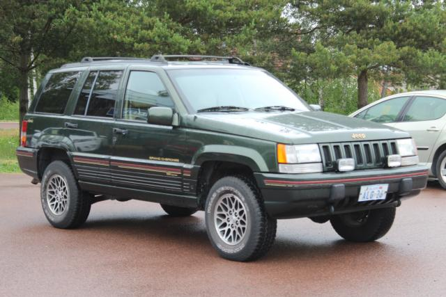 Jeep Grand Cherokee Limited 5,2 V8 - Orvis special Edition - 3500kg dragvikt!